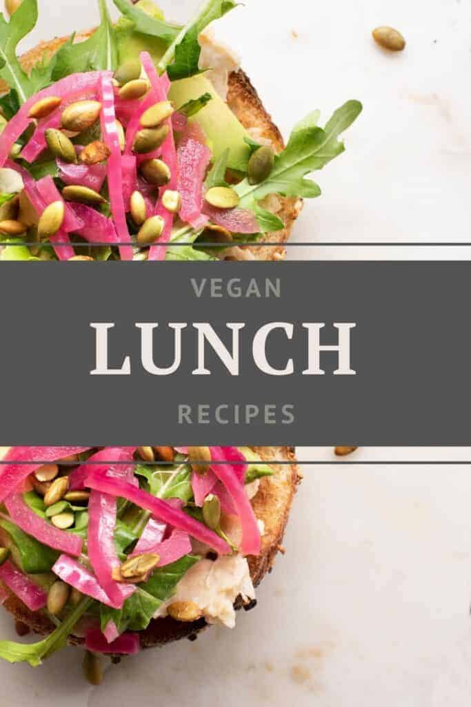 Vegan Recipes by Mealtime Vegan Lunch Recipes