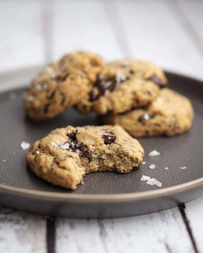 Dairy Free Chocolate Chip Cookies This Chewy Vegan Chocolate Chip Cookie Recipe is a Must Try!
