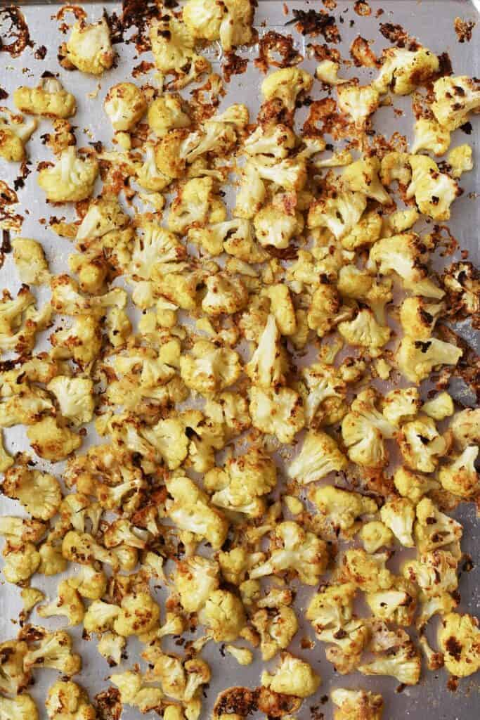 Roasted Cauliflower for Taco Toppings