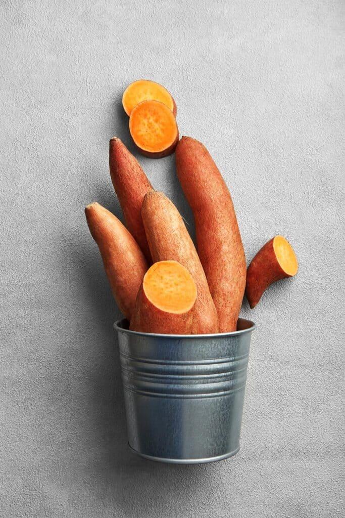 Roasted Sweet Potatoes for Vegan Tacos