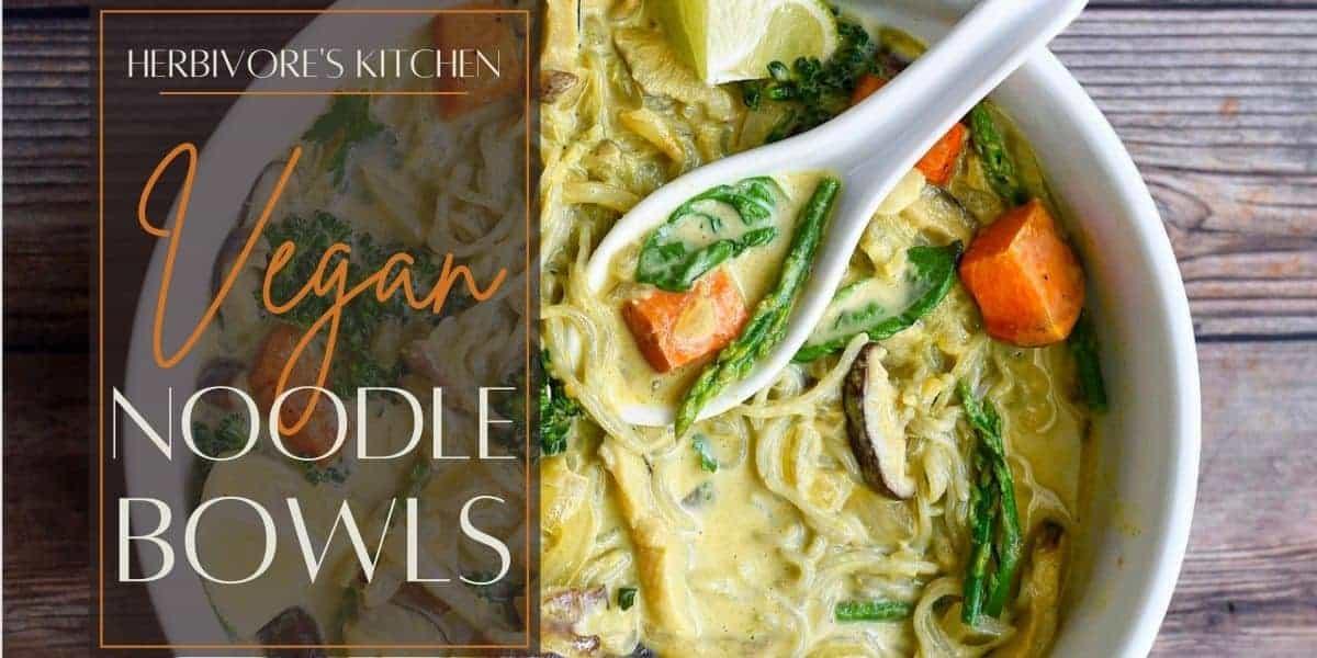 Vegan Noodle Bowls