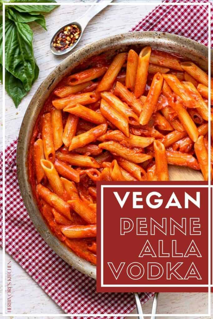 Vegan Penne Alla Vodka Comfort Food Goes Plant-Based with this Vegan Vodka Sauce Recipe