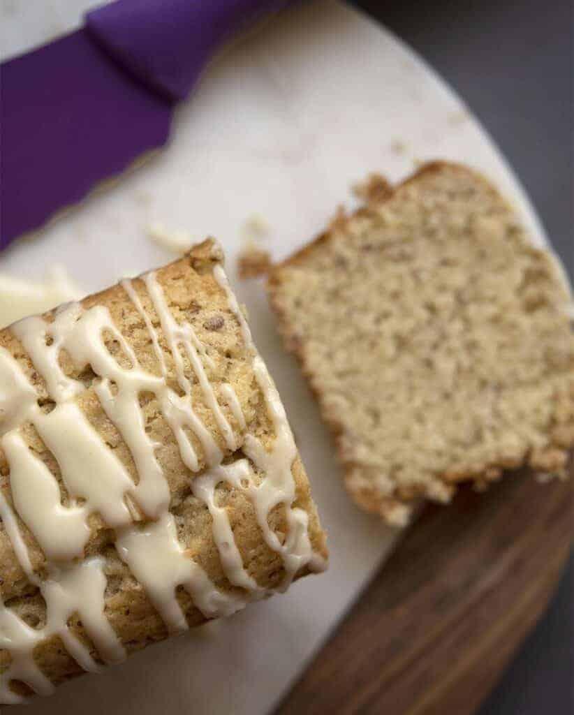 Orange Almond Vegan Sweet Bread Recipe