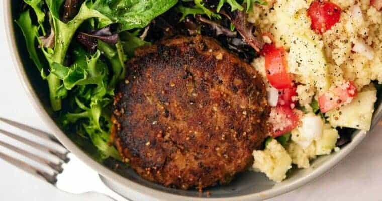 Red Bean Burger Recipe