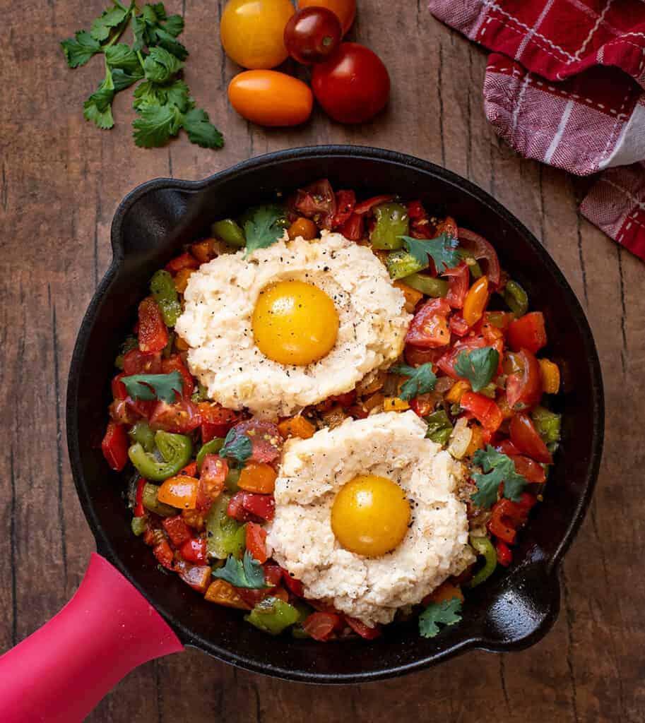 Vegan Brunch Recipes: Scrambled Veggie Breakfast Hash