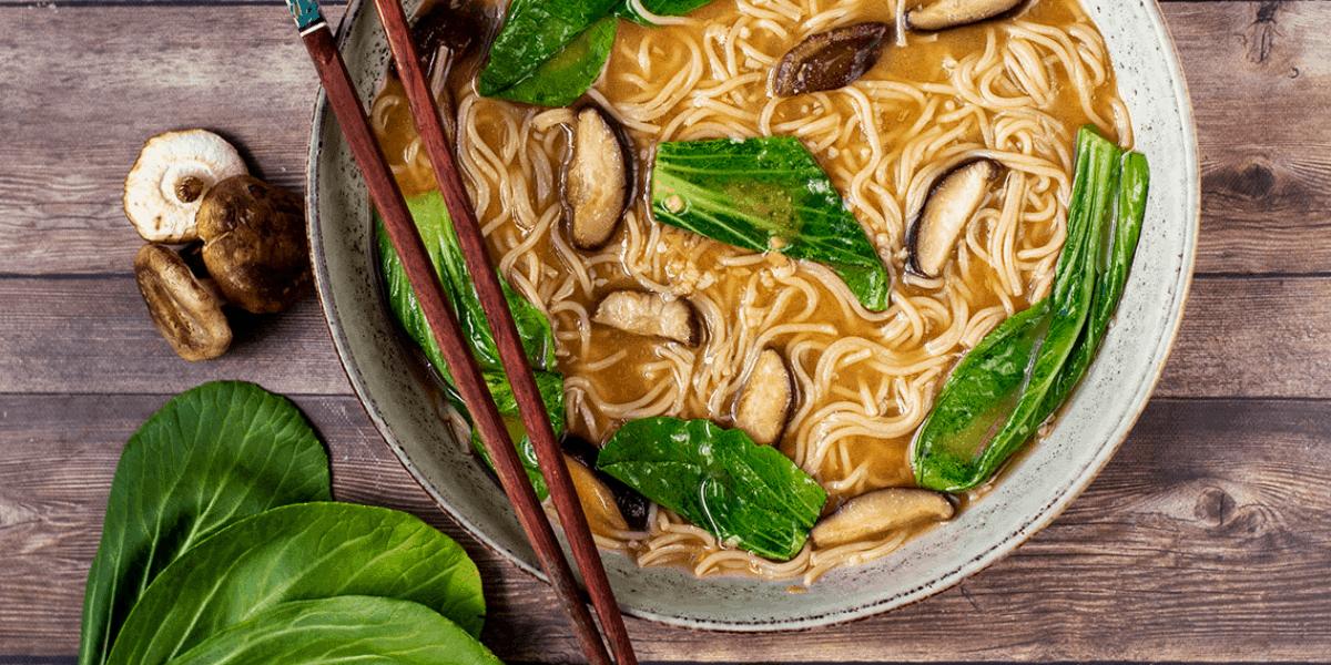 Vegan Miso Ramen Noodle Bowls