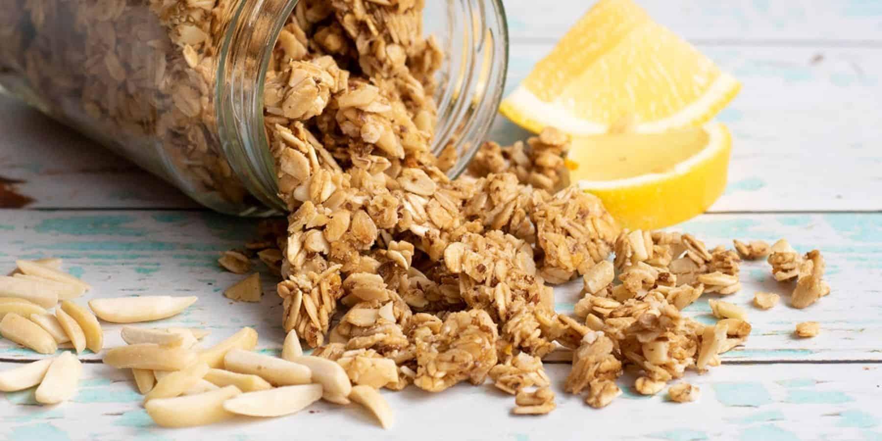 Lemon Granola Recipe