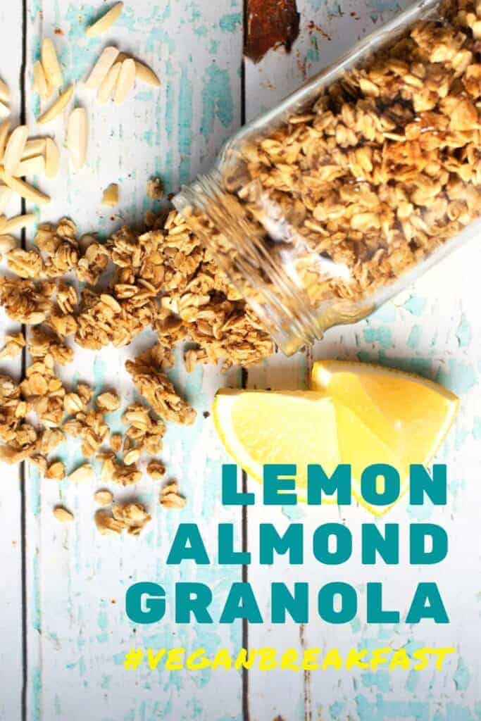 Lemon Granola Recipe Make Breakfast Sweeter with this Homemade Vegan Granola Recipe
