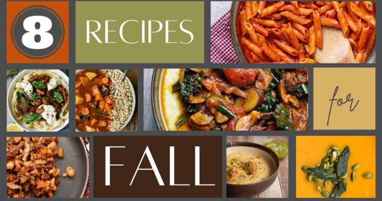 8 Vegan Fall Recipes