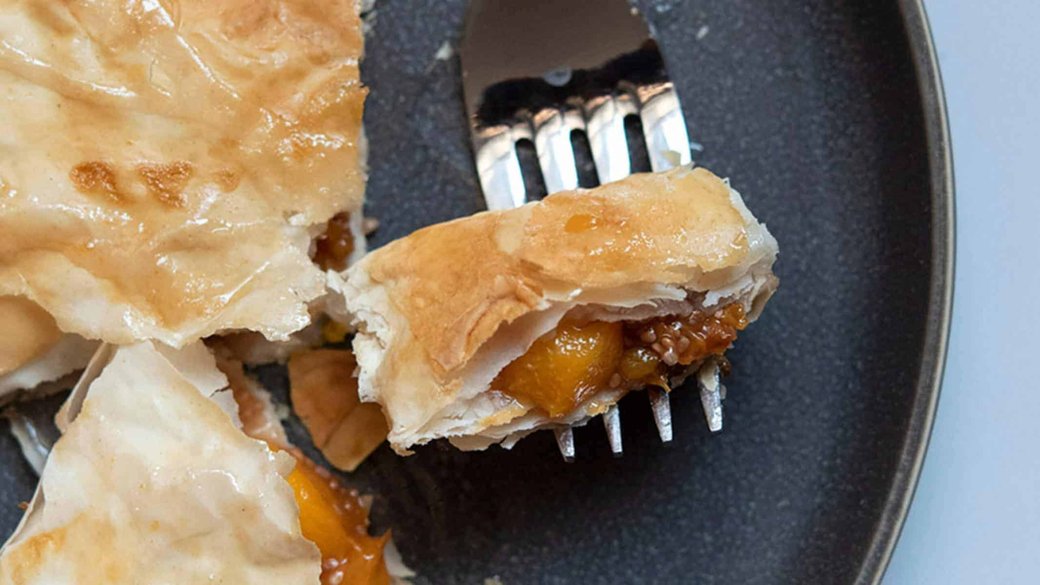 Baked Peach Turnovers Recipe
