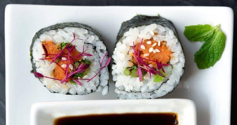 Vegan Sushi: Vegan Sushi Rolls & Bowls Recipes