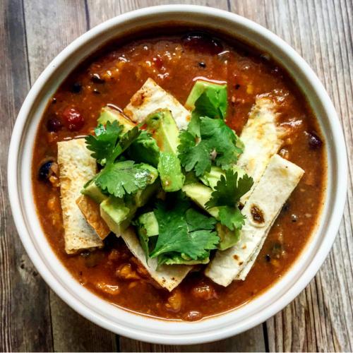 Smoky BBQ Sweet Potato Vegan Chili Recipe